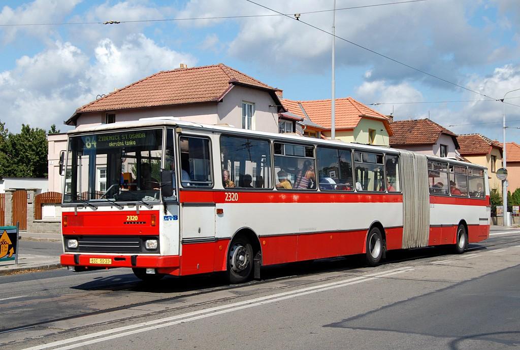 Fotogalerie » Karosa B741.1924 BSC 50-33 2320 | Brno | Černá Pole | Merhautova | Štefánikova čtvrť