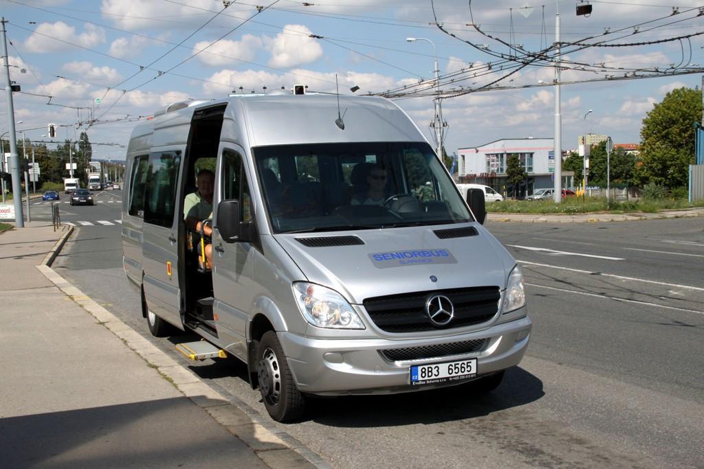 Fotogalerie » Mercedes-Benz Sprinter 8B3 6565 | Brno | Slatina | Hviezdoslavova | Černovičky