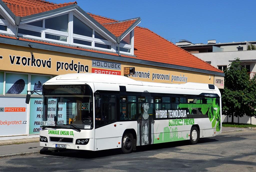 Fotogalerie » Volvo 7700LH 2SA 1435 2714 | Brno | Jundrov | Lelkova | Jundrov