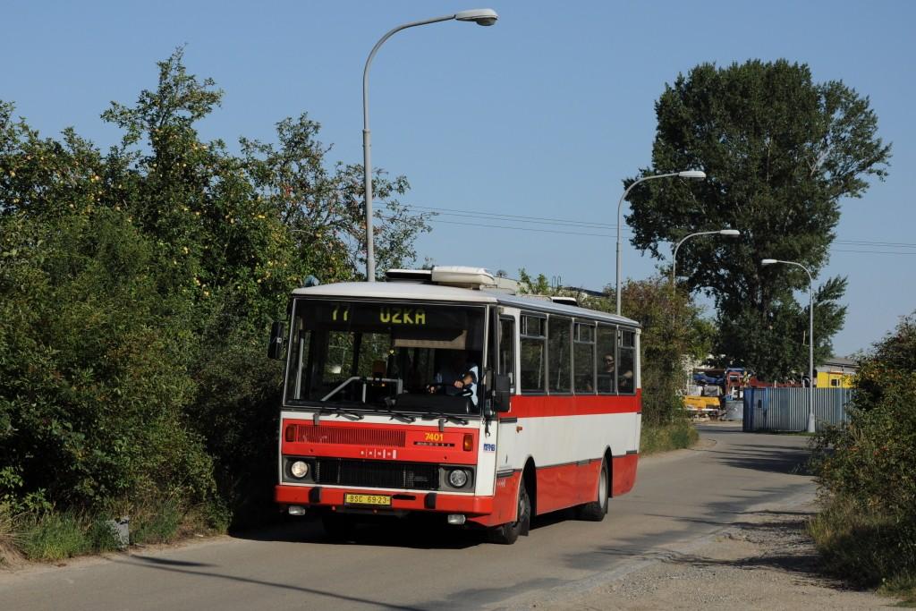 Fotogalerie » Karosa B731.1669 BSC 69-23 7401 | Brno | Slatina | Drážní | Slatinka
