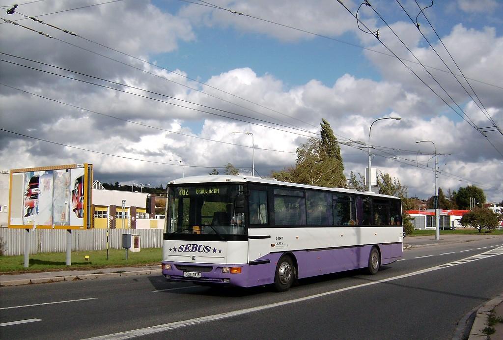 Fotogalerie » Karosa C954E.1360 3B0 1818 | Brno | Slatina | Hviezdoslavova