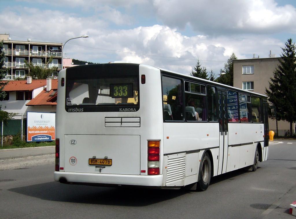 Fotogalerie » Karosa C954.1360 BOM 44-78   Tišnov   Nádražní