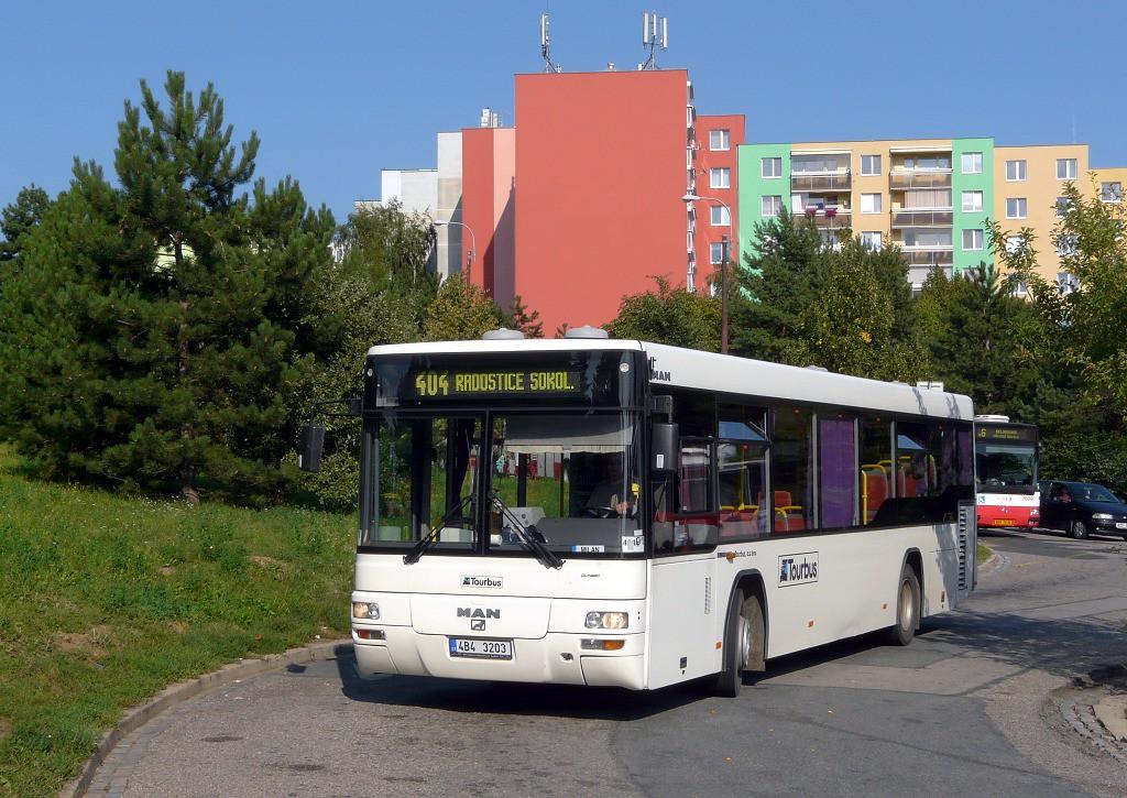 Fotogalerie » MAN MAN Lions City TÜ 4B4 3203 | Brno | Starý Lískovec | Labská | Labská, smyčka