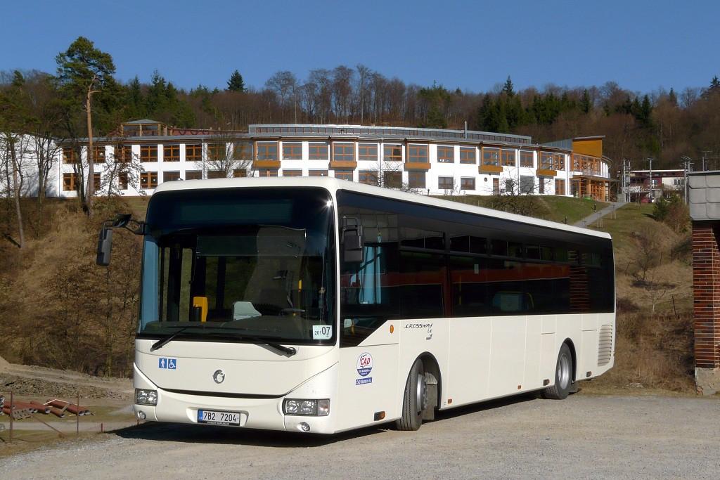 Fotogalerie » Irisbus Crossway LE 12M 7B2 7204   Křtiny