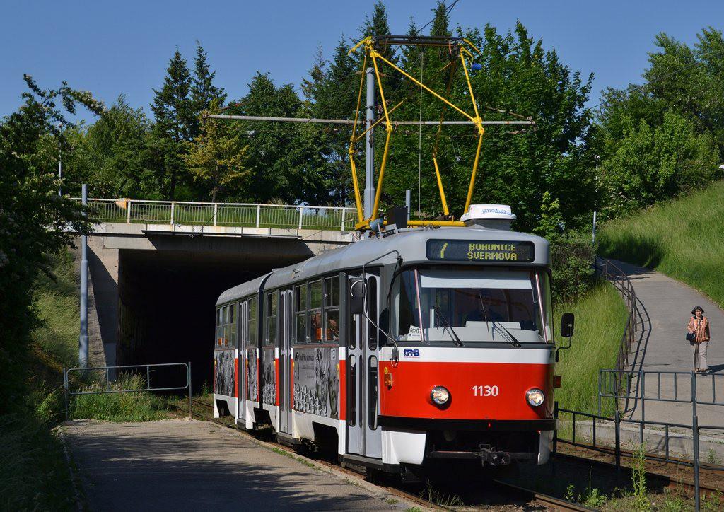 Fotogalerie » ČKD Tatra K2 1130 | Brno | Bohunice | Krematorium
