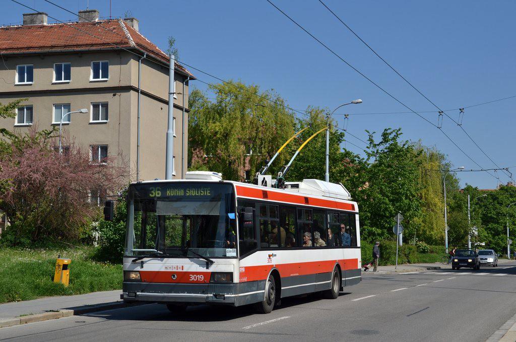 Fotogalerie » Škoda 21Tr 3019 | Brno | Žabovřesky | Zborovská