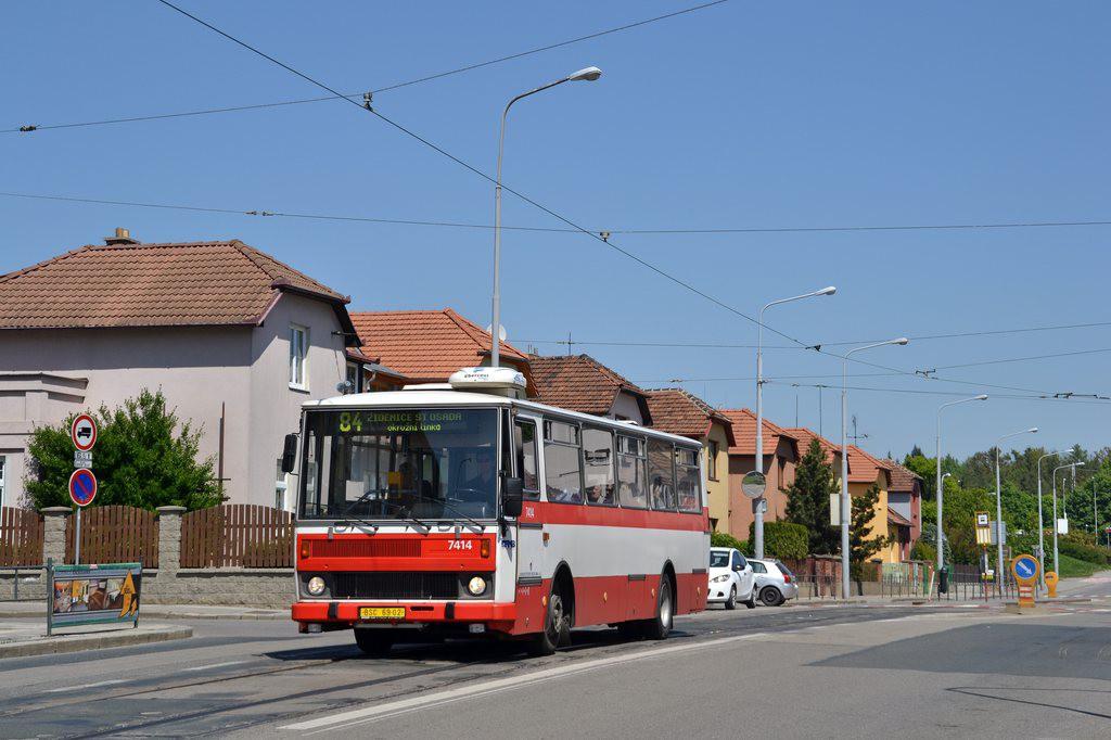 Fotogalerie » Karosa B731.1669 6B6 6826 7414 | Brno | Štefánikova Čtvrť | Merhautova
