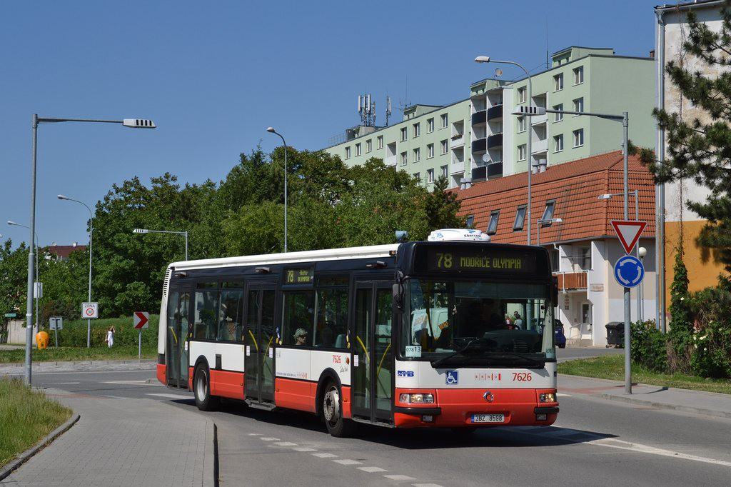 Fotogalerie » Irisbus Citybus 12M 2071.40 3B2 8598 7626 | Brno | Židenice | Koperníkova
