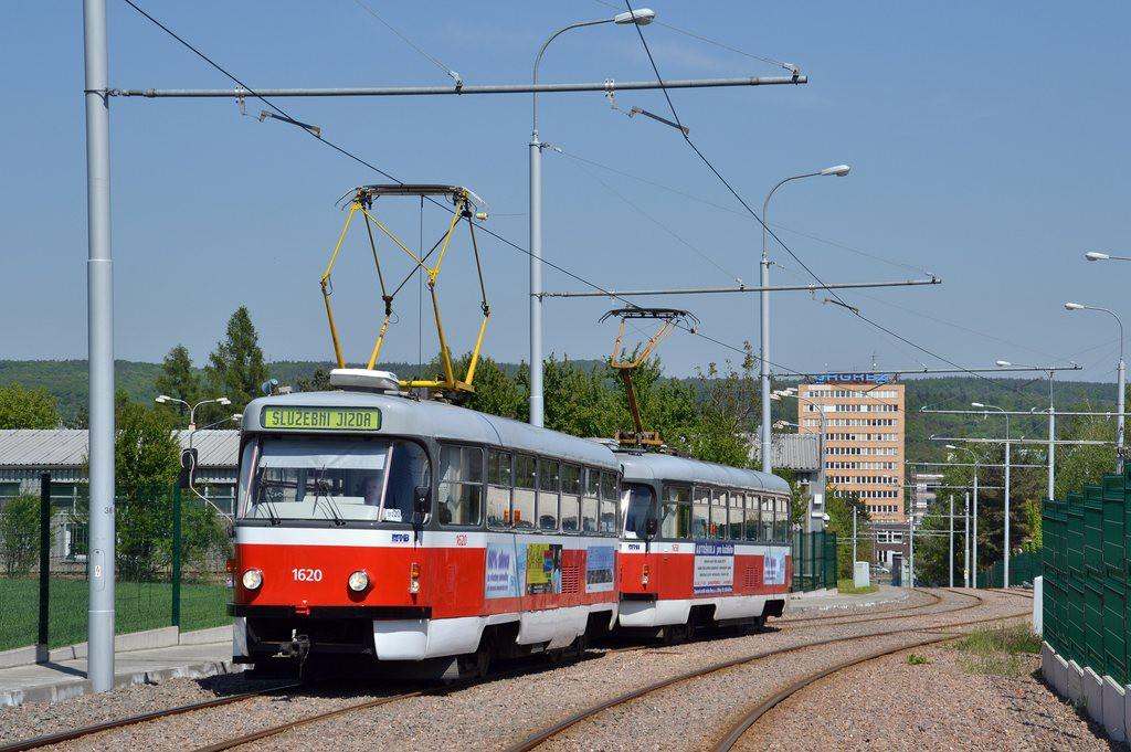 Fotogalerie » ČKD Tatra T3P 1620 | Pragoimex T3R.PV 1658 | Brno | Medlánky