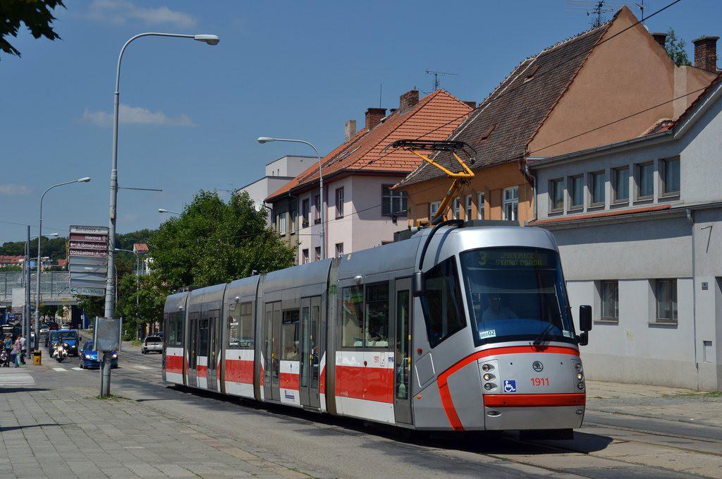 Fotogalerie » Škoda 13T3 1911 | Brno | Žabovřesky | Burianovo náměstí