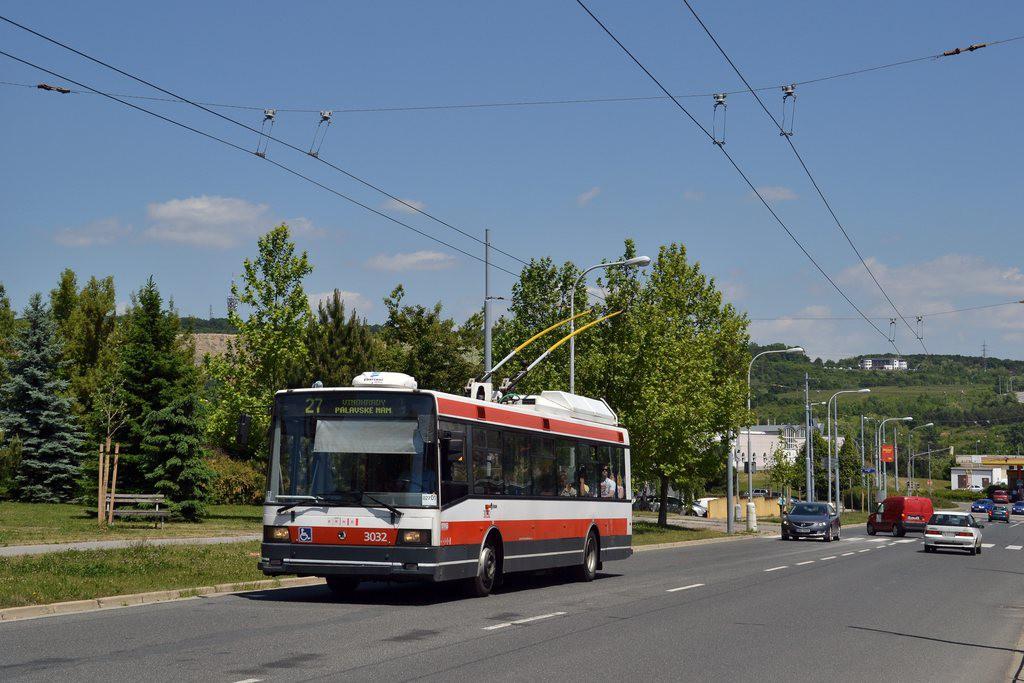 Fotogalerie » Škoda 21Tr 3032   Brno   Vinohrady