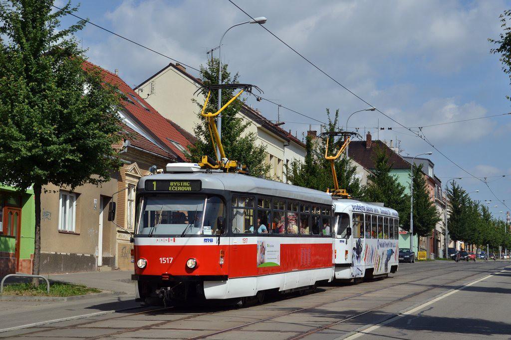 Fotogalerie » Pragoimex T3R.PV 1517 | Pragoimex T3R.PV 1657 | Brno | Řečkovice | Banskobystrická