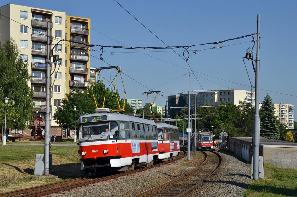 Fotogalerie » ČKD Tatra T3P 1620 | Pragoimex T3R.PV 1658 | Brno | Starý Lískovec | Jemelkova