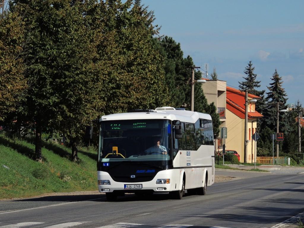 Fotogalerie » SOR CN 12 4J4 2746 | Brno | Bosonohy | Pražská
