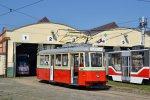 Historická tramvaj 4MT DPMB