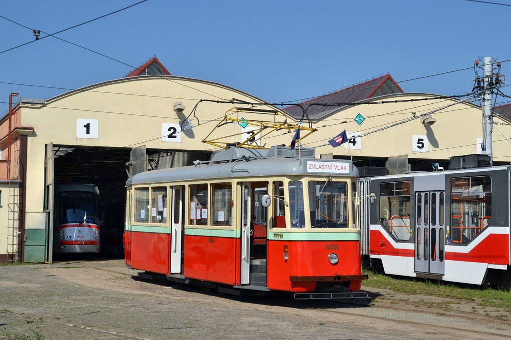 Fotogalerie » SBEPD 4MT4 4058 | Brno | vozovna Medlánky