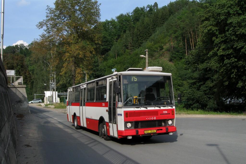 Fotogalerie » Karosa B732.1654.3 BSC 38-64 7376 | Bílovice nad Svitavou | Pod Nádražím | Bílovice n. S., žel. stanice