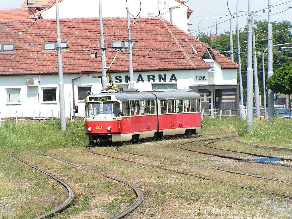 Fotogalerie » ČKD Tatra K2P 1023 | Brno | Štýřice | Vídeňská