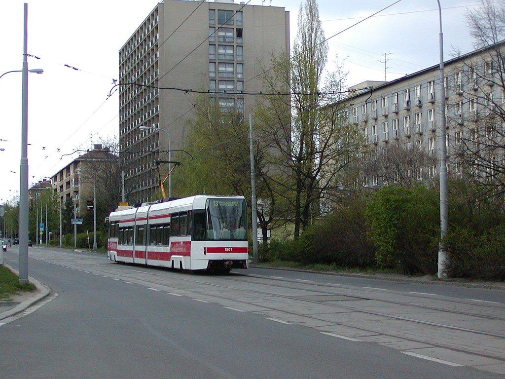 Fotogalerie » ČKD DS RT6N1 1801 | Brno | Kounicova