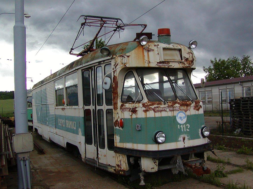 Fotogalerie » Tatra T2 služební 4113 | Brno | Vozovna Medlánky