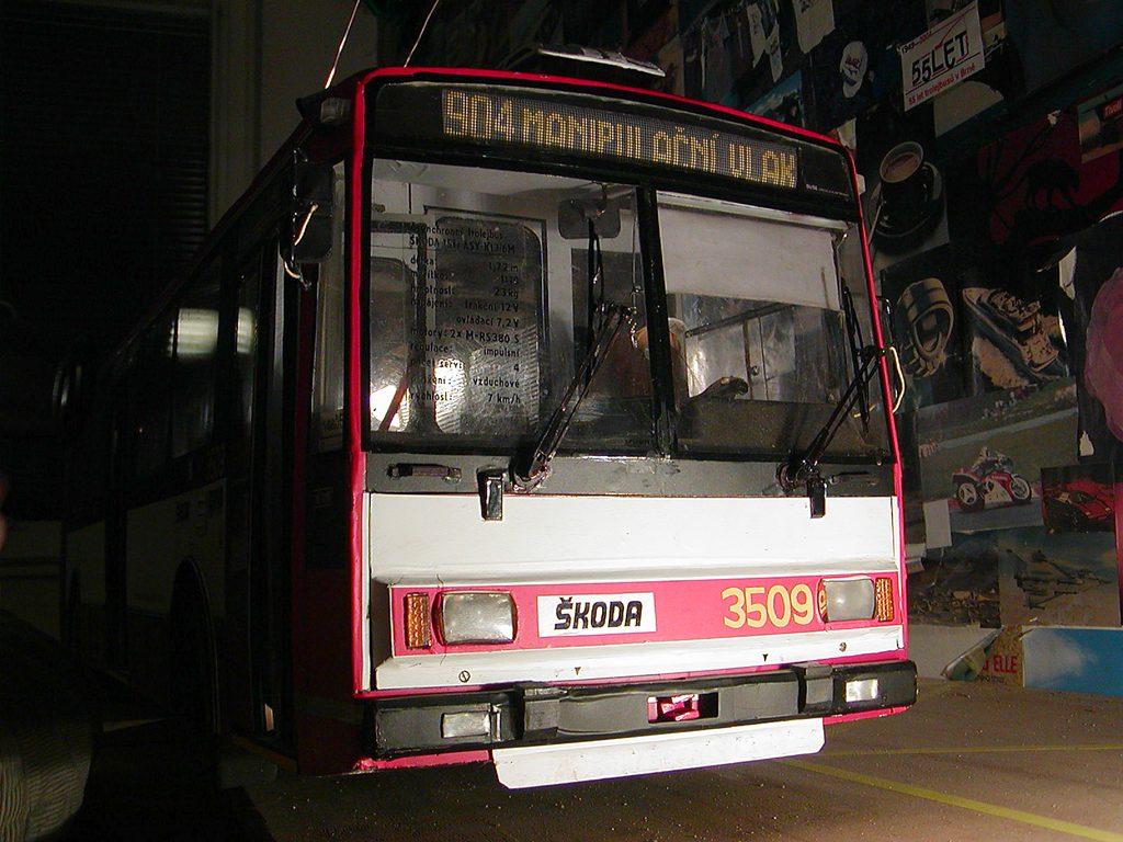 Fotogalerie » Škoda Poloostrov 15Tr ASY-K13/6M 3509