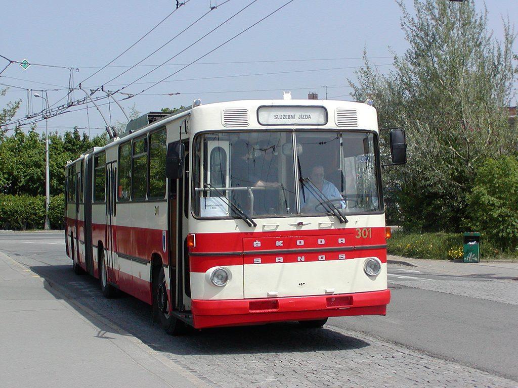 Fotogalerie » Škoda Škoda Sanos 200Tr 301 | Brno | Židenice | Stará Osada