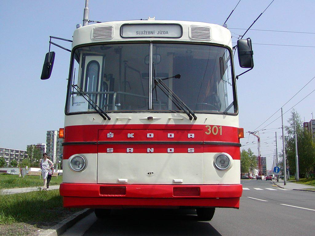 Fotogalerie » Škoda Škoda Sanos 200Tr 301 | Brno | Vinohrady | Pálavské náměstí