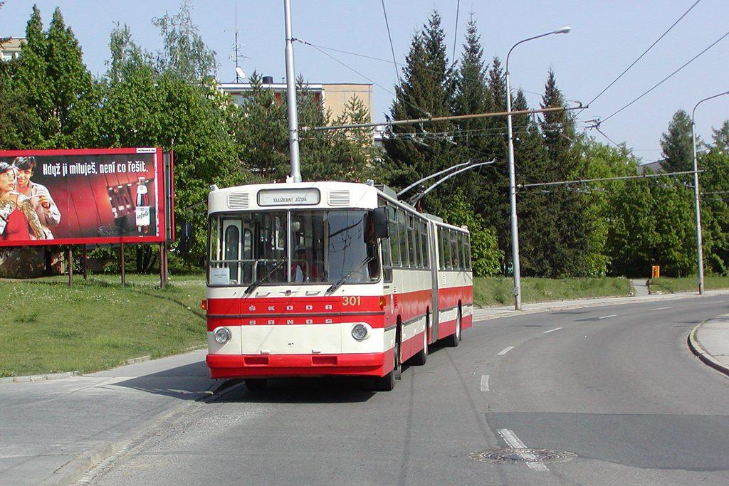 Fotogalerie » Škoda Škoda Sanos 200Tr 301 | Brno | Žabovřesky | Přívrat