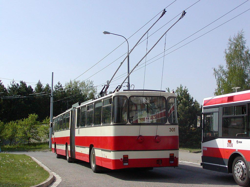 Fotogalerie » Škoda Škoda Sanos 200Tr 301   Brno   Bystrc   Černého