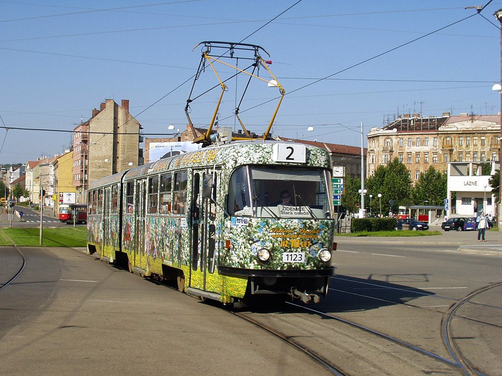 Fotogalerie » ČKD Tatra K2 1123 | Brno | střed | Nové sady