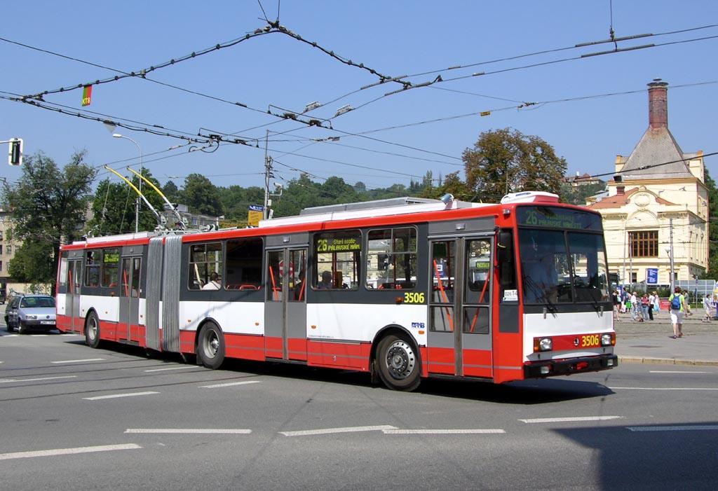 Fotogalerie » Škoda 15TrM 3506   Brno   Staré Brno   Mendlovo náměstí   Mendlovo náměstí