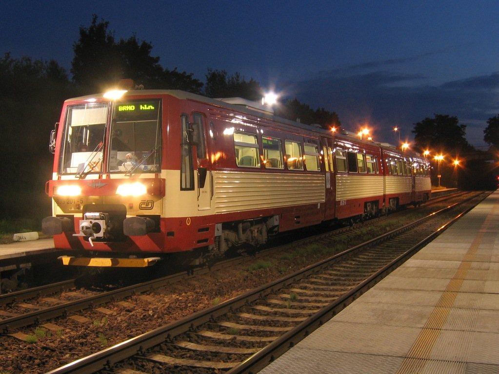 Fotogalerie » Metrovagonmaš Mytišči 835 835.201 | Střelice | Střelice-dolní