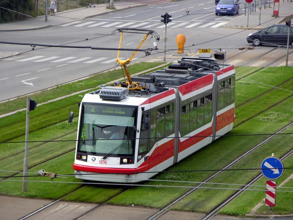 Fotogalerie » Škoda 03T6 1816 | Brno | střed | Nové sady