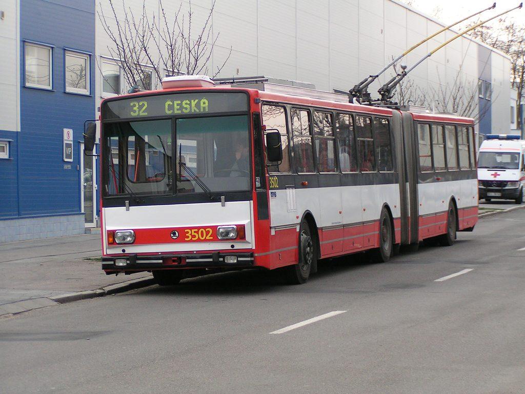 Fotogalerie » Škoda 15TrM 3502 | Brno | Královo Pole | Srbská