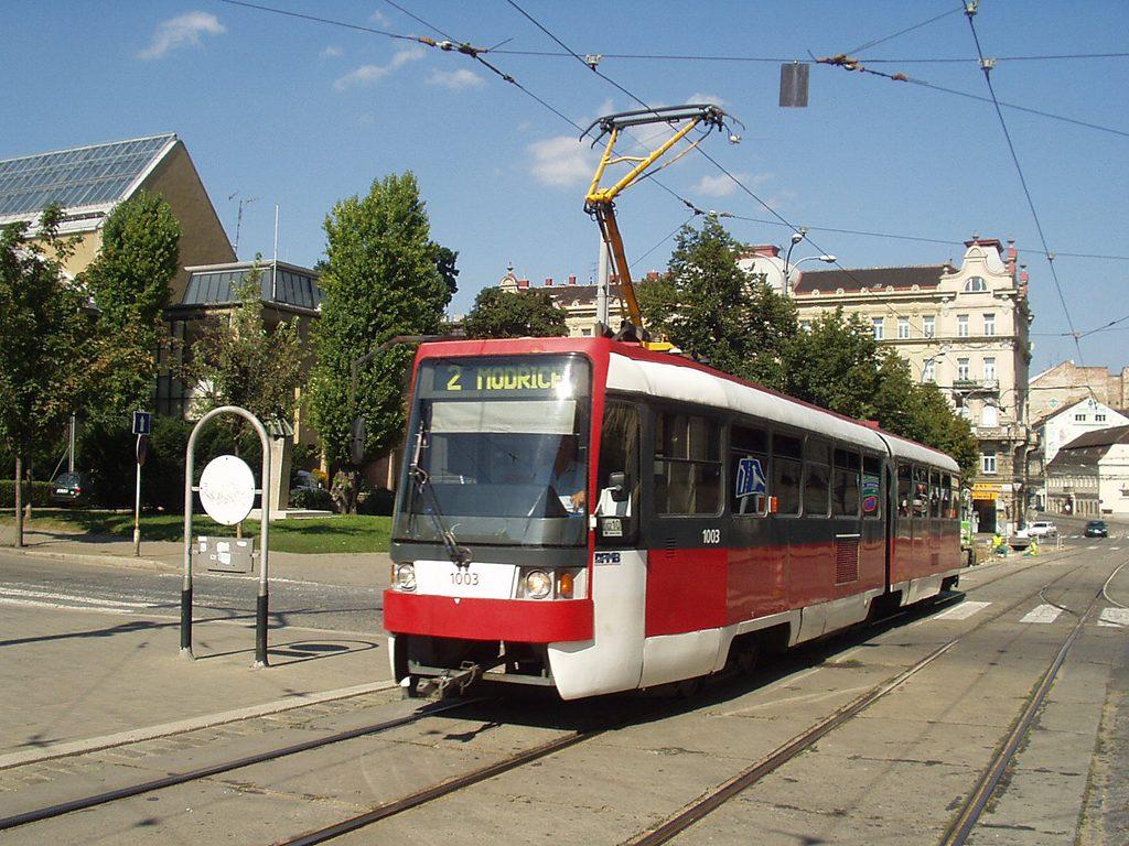 Fotogalerie » ČKD Tatra K2R 1003 | Brno | střed | Malinovského náměstí