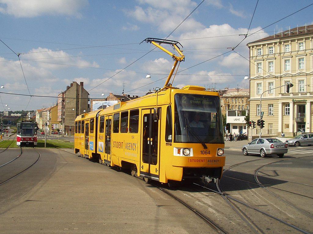 Fotogalerie » ČKD Tatra K2R 1064   Brno   střed   Nové sady