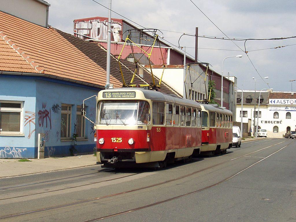 Fotogalerie » ČKD Tatra T3 1525 | ČKD Tatra T3 1528 | Brno | Židenice | Životského