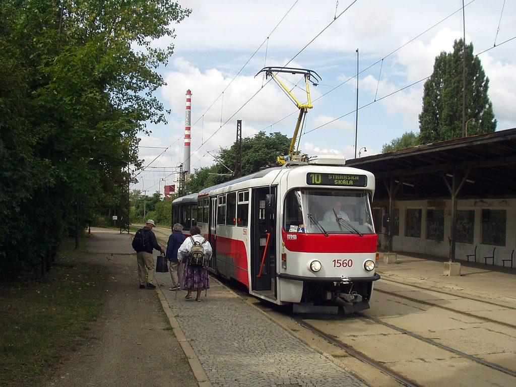 Fotogalerie » Pragoimex T3R.EV 1560 | Pragoimex VV60LF 1301 | Brno | Stránská Skála | Stránská skála