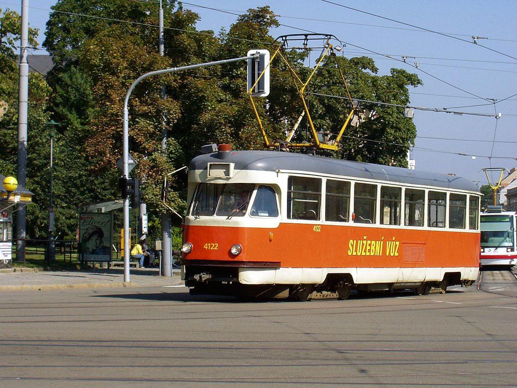 Fotogalerie » Tatra T2 služební 4122 | Brno | střed | Moravské náměstí