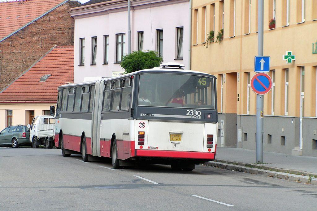 Fotogalerie » Karosa B741.1924 2330 | Brno | Židenice | Jamborova