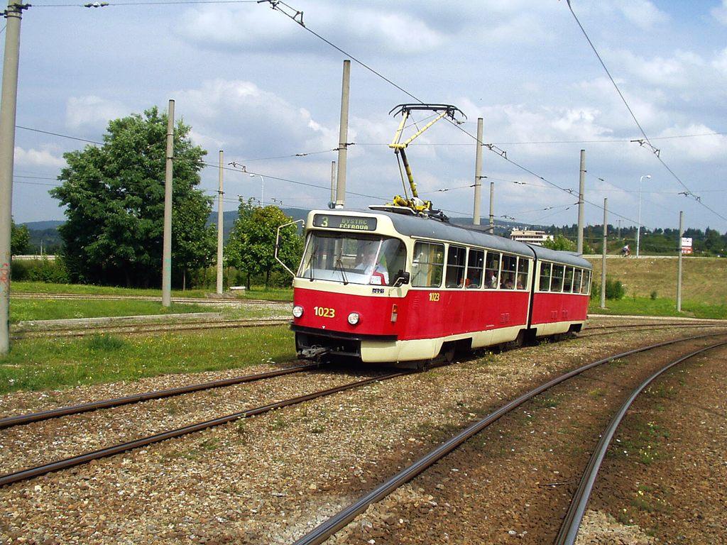 Fotogalerie » ČKD Tatra K2P 1023 | Brno | Bystrc