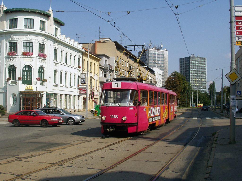 Fotogalerie » ČKD Tatra K2MM 1063 | Brno | Žabovřesky | Minská