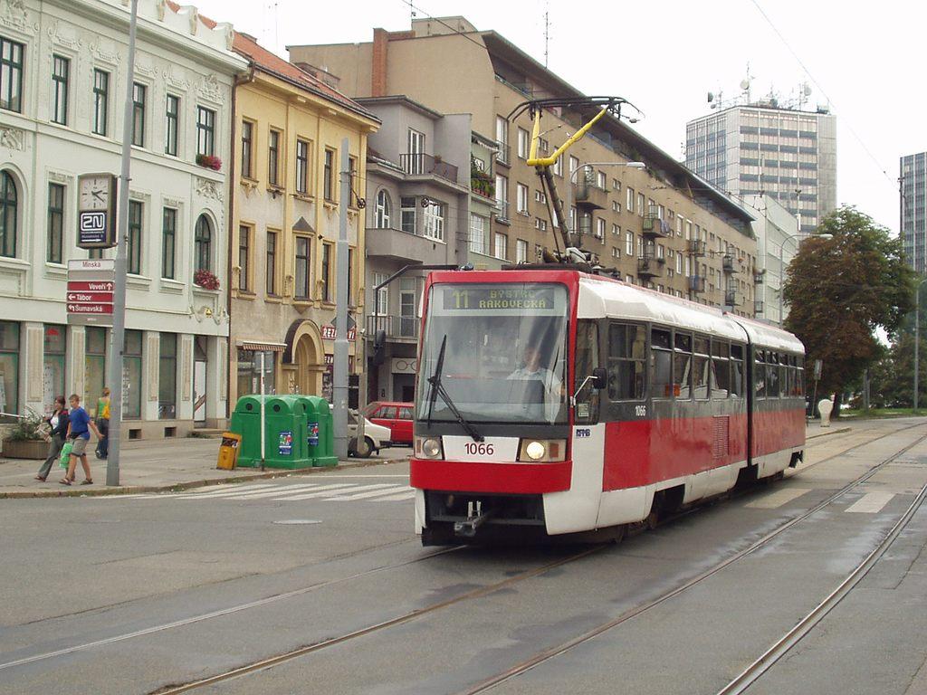 Fotogalerie » ČKD Tatra K2R 1066 | Brno | Žabovřesky | Veveří