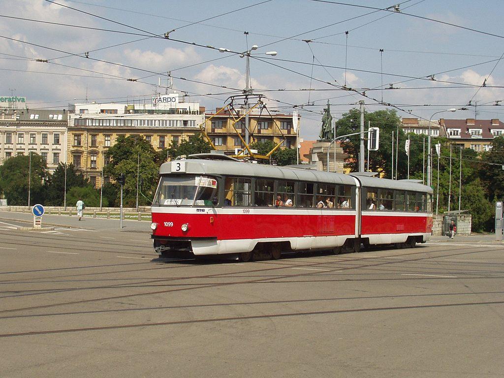 Fotogalerie » ČKD Tatra K2MM 1099 | Brno | střed | Moravské náměstí