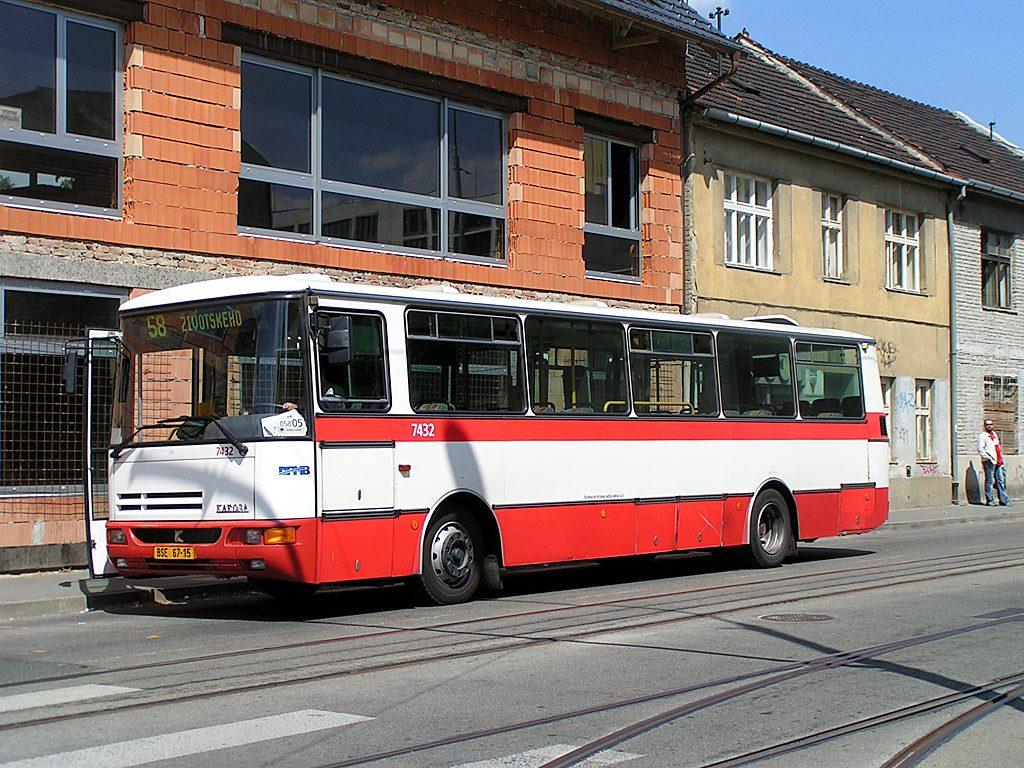 Fotogalerie » Karosa B931.1675 7432 | Brno | Juliánov | Táborská | Geislerova