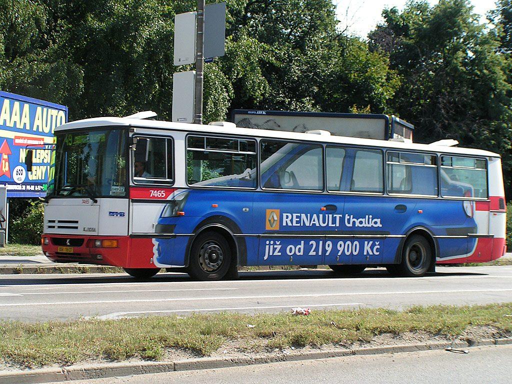 Fotogalerie » Karosa B931E.1707 7465 | Brno | Hladíkova