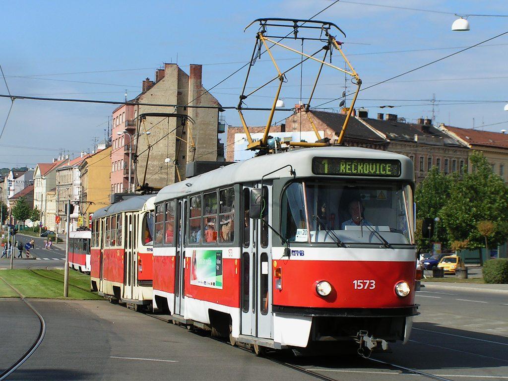 Fotogalerie » ČKD Tatra T3M 1573 | Brno | střed | Nové sady