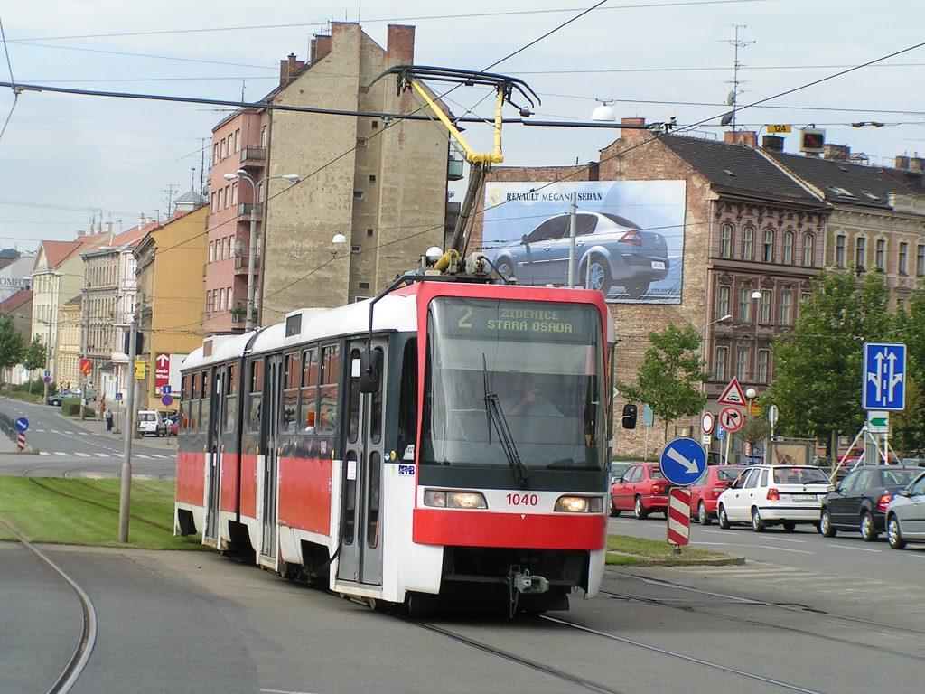 Fotogalerie » ČKD Tatra K2R03-P 1040 | Brno | střed | Nové sady