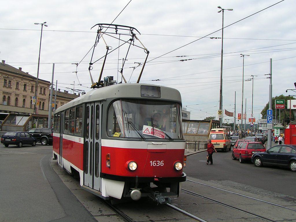 Fotogalerie » ČKD Tatra T3G 1636 | Brno | střed | Benešova