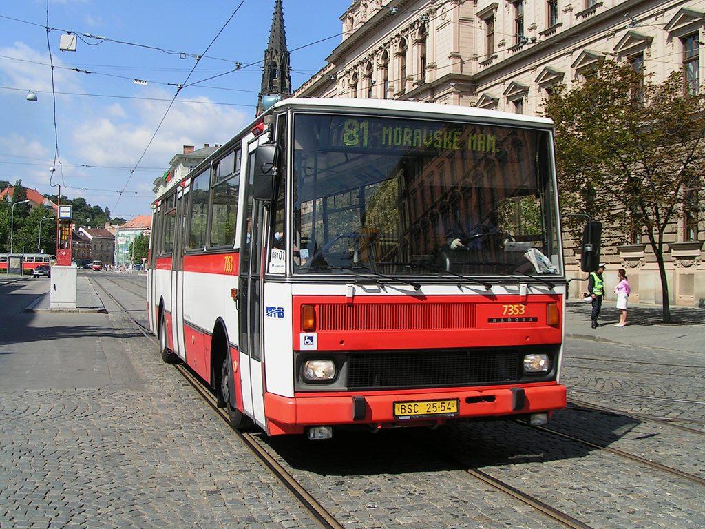 Fotogalerie » Karosa B732 pro invalidy 7353 | Brno | střed | Joštova | Česká